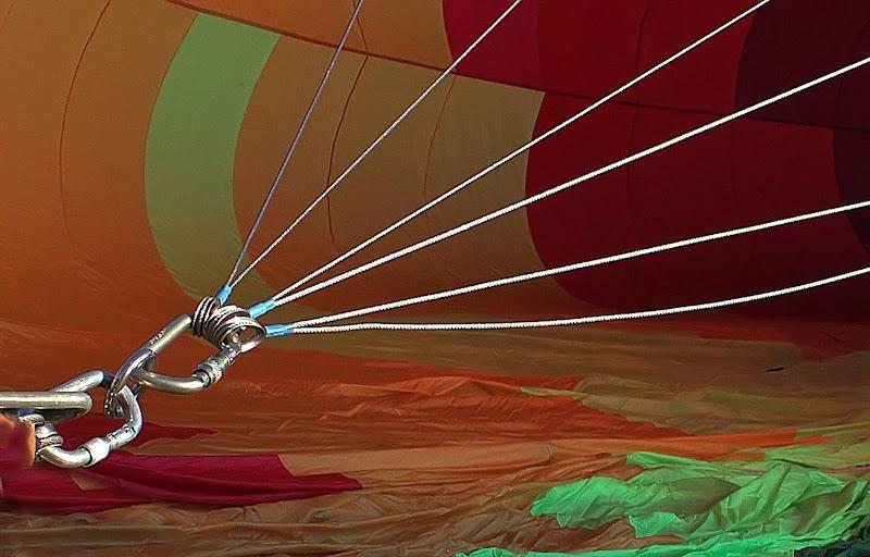 Il tirante della mongolfiera di Naldina Fornasari