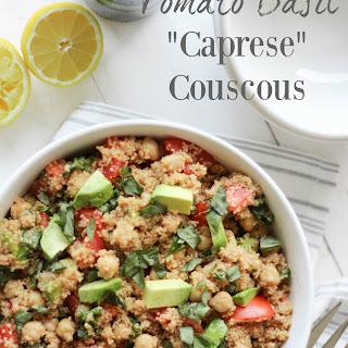 "Tomato Basil ""Caprese"" Couscous"