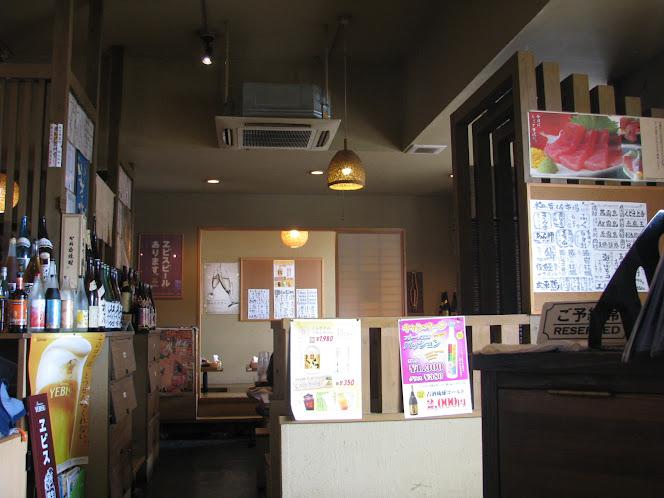 沖縄市の根夢の店内