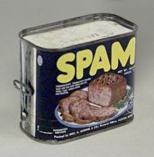 SPAM de lata y correo electrónico