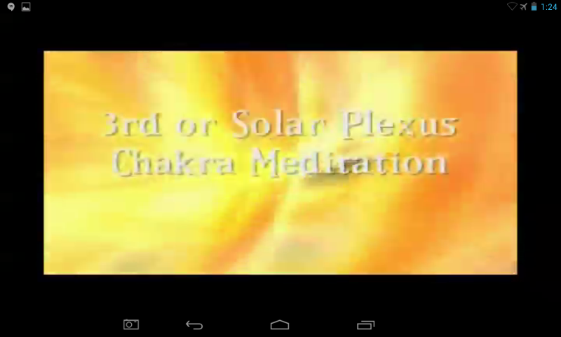 Video Solar Plexus Chakra- screenshot