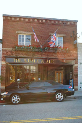 This is a photo of the exterior of the Whale and Ale Pub in Port San Pedro, CA.