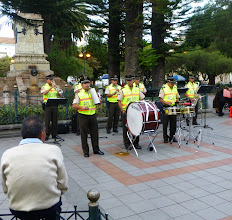 Photo: Police concert, Cuenca