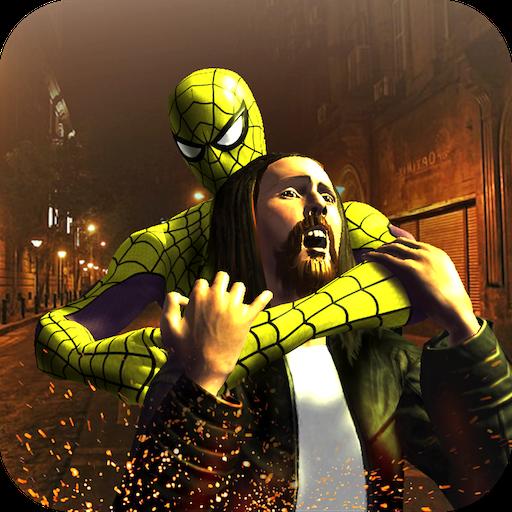 Super Spider Avenger Hero