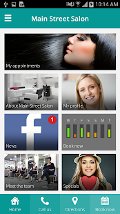 mySALONapp- screenshot thumbnail
