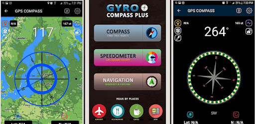 Gyro Compass App for Android Pro & GPS Speedometer - Apps on Google Play