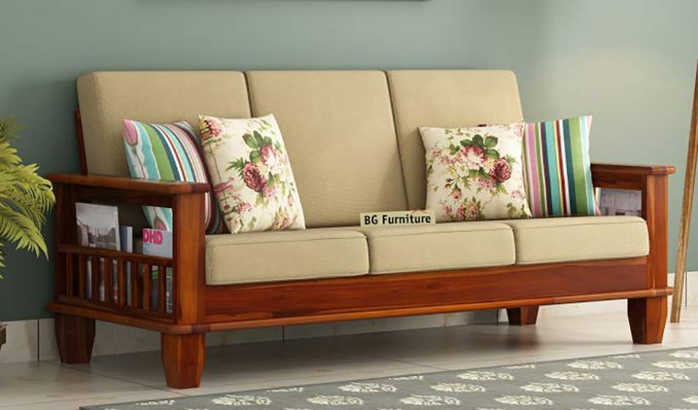 Tulsi-Art-Solid-Wooden-3-Seater-Sofa-Set