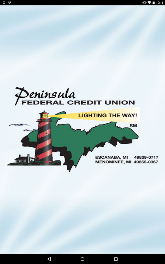 Peninsula Federal Credit Union- screenshot