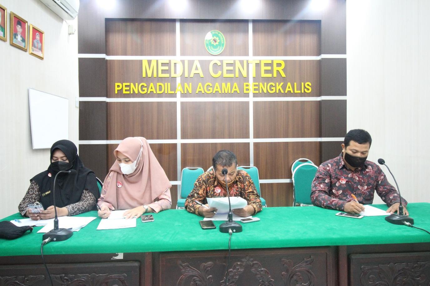 Pengadilan Agama Bengkalis Ikuti Bimtek Penyusunan RKA-K/L Pagu Indikatif DIPA 01 TA 2022  | (14/6)