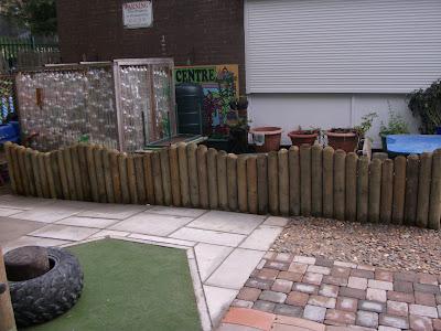 Gurnos Nursery Play Area Sensory Garden Mike Wilkes Amp Son