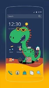 Green Dinosaur Baby screenshot 0