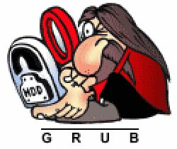 set grub 2 password protection
