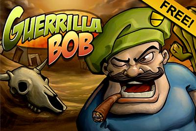 Jogo para celular Guerrilha Bob