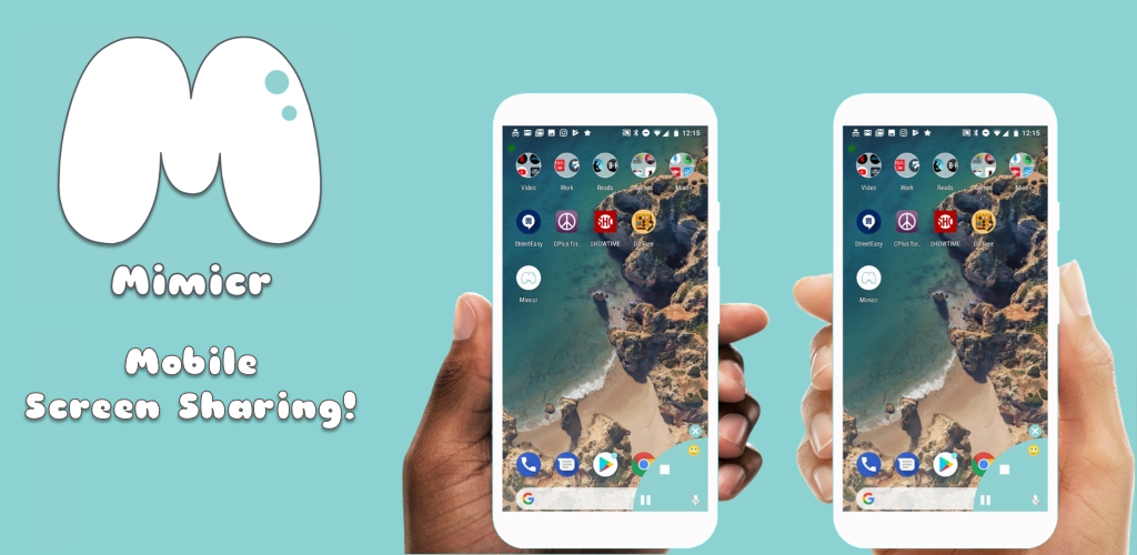 Download Mimicr - Mobile Screen Sharing + Voice Chat APK