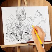 How To Draw Transform Robots