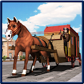 Horse Carriage Transport Sim