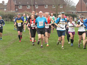 Photo: more keen runners ....