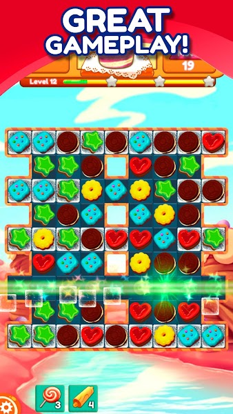 Cookie Match 3 Mania -  Sweet Puzzle Game ⭐❤️