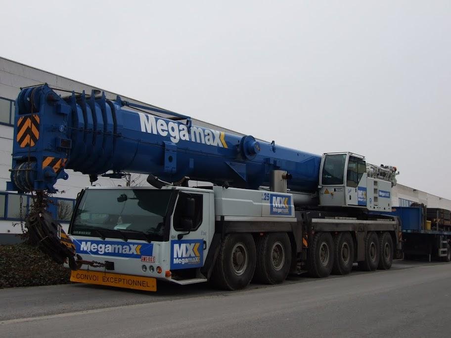 Les grues de MEGAMAX (Belgique) DSCF7742