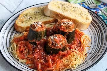 Italian Stuffed Zucchini