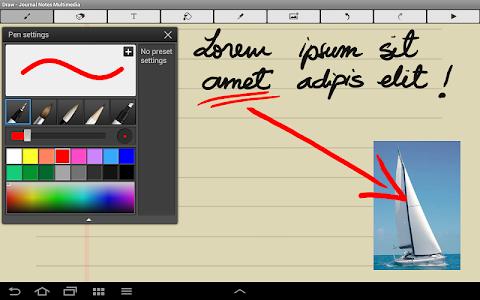 Journal Notes Multimedia screenshot 11