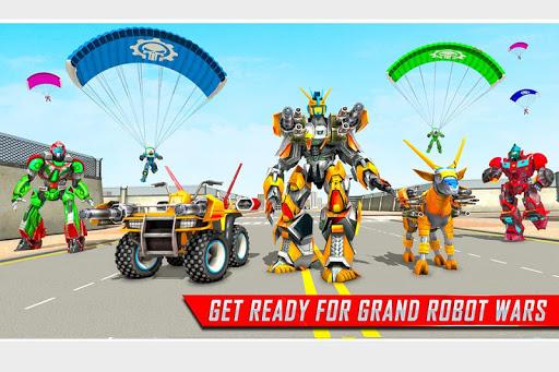 Goat Robot Transforming Games: ATV Bike Robot Game  screenshots 1