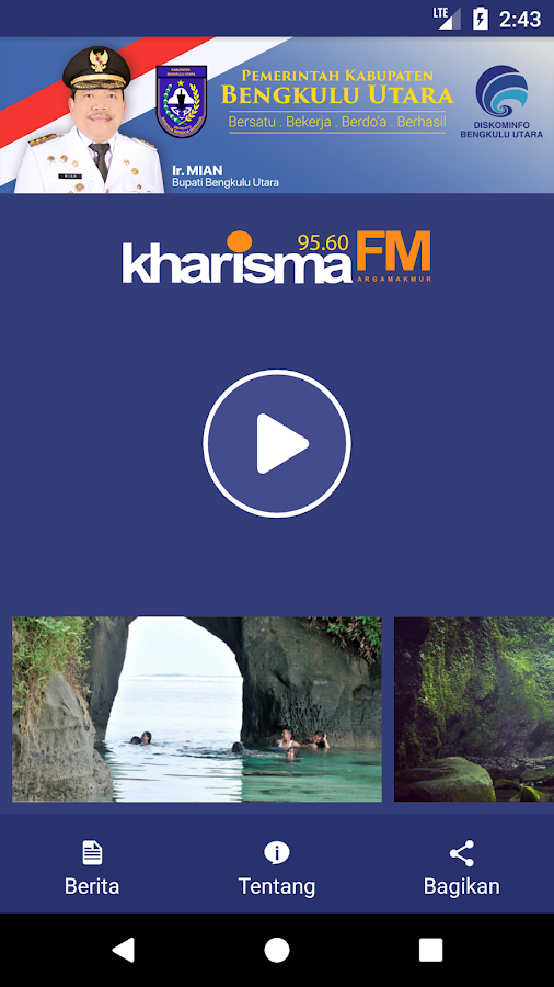 LPPL RADIO KHARISMA- screenshot