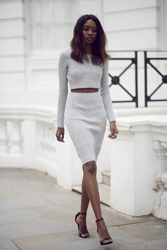 Description: Image result for formal knee length skirt outfit