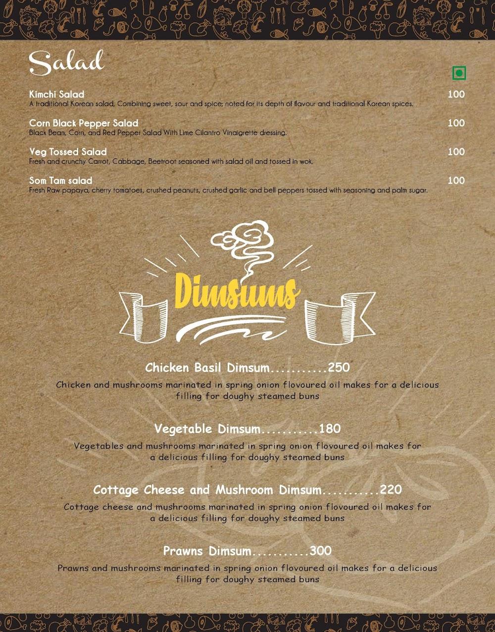 Spork menu 1