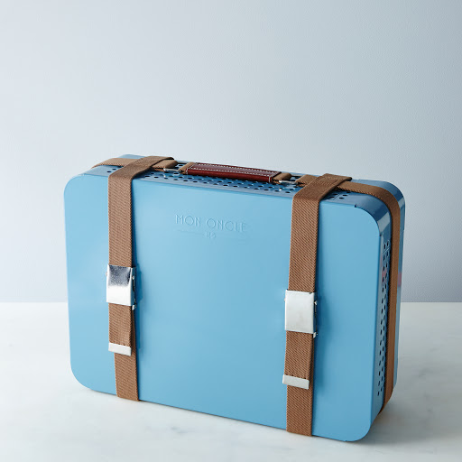 Briefcase Barbecue – Light Blue