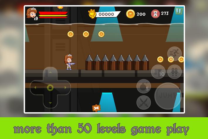 The First Temple Run Sofia Games Screenshot