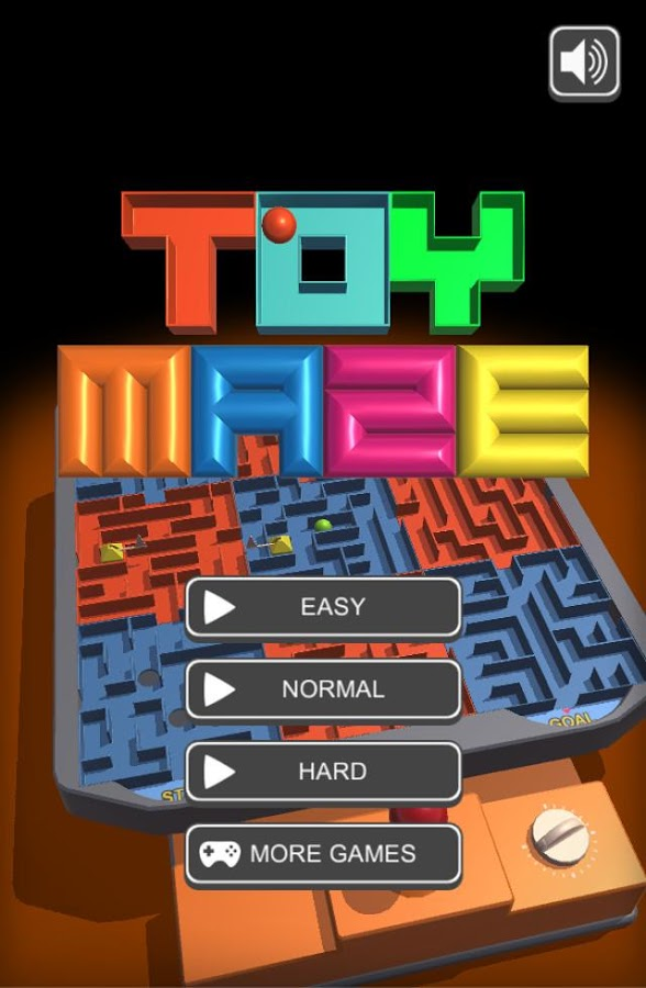 Toy Maze- screenshot