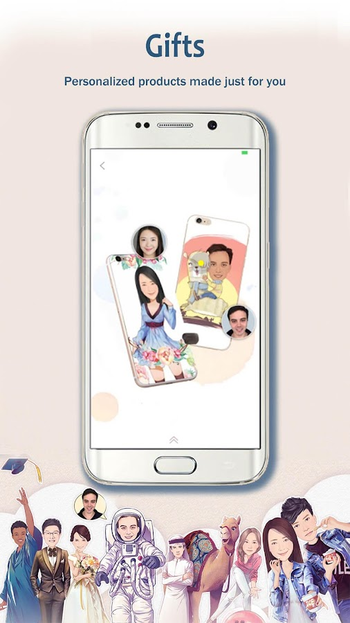 Screenshots of MomentCam Cartoons & Stickers for iPhone