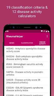 RheumaHelper Screenshot