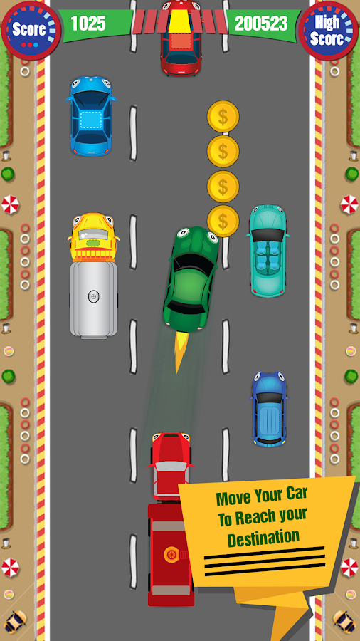 Nifty Car Racing- screenshot