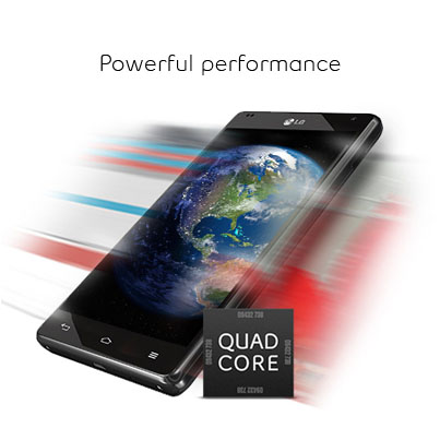 Photo: The LG Optimus G superphone boasts a 1.5 GHz quad-core processor and 2GB of RAM, the latest in superphone processing technology. A quad-core processor brings the power of a laptop to your phone, resulting in faster loading times and smoother multitasking. http://bit.ly/W5BpVJ