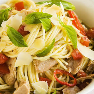 Spicy Tuna Spaghetti.