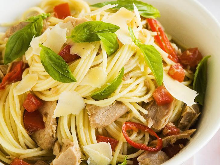 Spicy Tuna Spaghetti Recipe