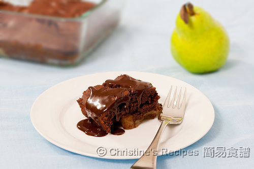 Chocolate Pear Pudding03