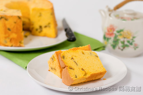 南瓜戚風蛋糕 Pumpkin Chiffon Cake03