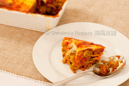 茄子肉醬千層批 Beef and Eggplant Lasagna02
