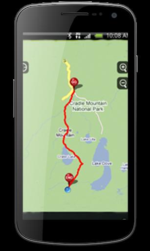 GPS Personal Tracking Route : GPS Maps Navigation 1.1.4 screenshots 2