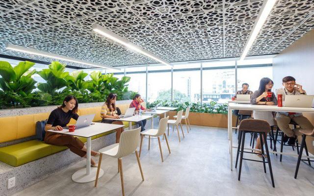 30 mẫu thiết kế văn phòng đẹp 2020 ( Phần 1 ) - Sơn Hiệu Ứng Waldo Textured  Paint