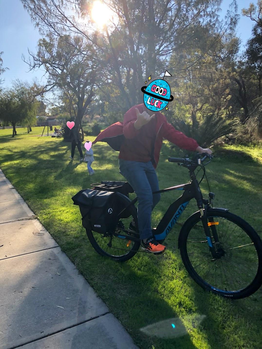 自転車パース