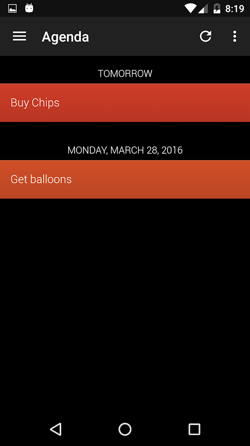 GTI - Tasks, Notes, To-Do List- screenshot