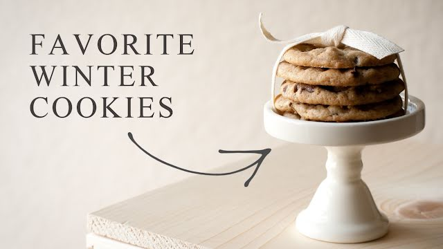Favorite Winter Cookies - YouTube Thumbnail Template