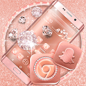 Rose Gold Launcher Theme icon