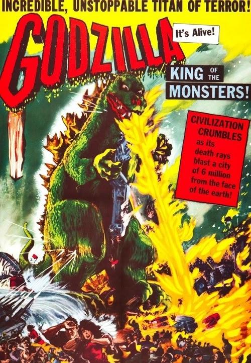 Godzilla Japón bajo el terror del monstruo
