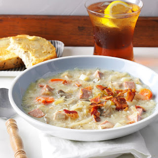 Slow-Cooked Sauerkraut Soup.