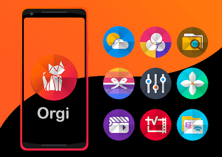 Orgi - Icon Pack Screenshot